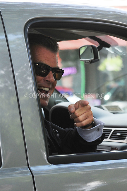 WWW.ACEPIXS.COM . . . . . ....July 8 2009, New York City....Actor Pierce Brosnan on the set of the new movie 'Remember me' in Queens on July 8 2009 in New York City....Please byline: KRISTIN CALLAHAN - ACEPIXS.COM.. . . . . . ..Ace Pictures, Inc:  ..tel: (212) 243 8787 or (646) 769 0430..e-mail: info@acepixs.com..web: http://www.acepixs.com