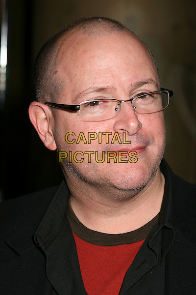"MIKE MIGNOLA.""Pan's Labyrinth"" Los Angeles Special Screening at Grauman's Egyptian Theatre, Hollywood, California, USA..December 18th, 2006.headshot portrait glasses.CAP/ADM/BP.©Byron Purvis/AdMedia/Capital Pictures"