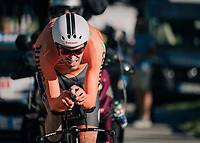 Tom Dumoulin (NED/Sunweb)<br /> <br /> MEN ELITE INDIVIDUAL TIME TRIAL<br /> Hall-Wattens to Innsbruck: 52.5 km<br /> <br /> UCI 2018 Road World Championships<br /> Innsbruck - Tirol / Austria