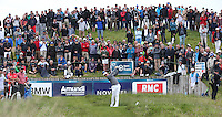 Rory McIlroy (NIR) drives down the 17th during Round Two of the 100th Open de France, played at Le Golf National, Guyancourt, Paris, France. 01/07/2016. Picture: David Lloyd | Golffile.<br /> <br /> All photos usage must carry mandatory copyright credit (&copy; Golffile | David Lloyd)