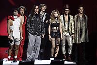 Milano 02/11/2017 - trasmissione Tv  X-Factor foto Daniele Buffa/Image/Insidefoto <br /> nella foto: Manuel Agnelli-Sem&amp;Stenn-Maneskin