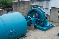 Water Turbine, Big Chute Ontario