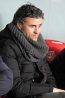 FC Barcelona's coach Luis Enrique Martinez during La Liga match.February 8,2015. (ALTERPHOTOS/Acero) /NORTEphoto.com