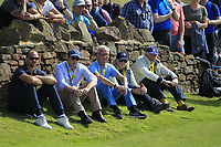 VIP's at the 2nd green during Round 4 of the Aberdeen Standard Investments Scottish Open 2019 at The Renaissance Club, North Berwick, Scotland on Sunday 14th July 2019.<br /> Picture:  Thos Caffrey / Golffile<br /> <br /> All photos usage must carry mandatory copyright credit (© Golffile | Thos Caffrey)
