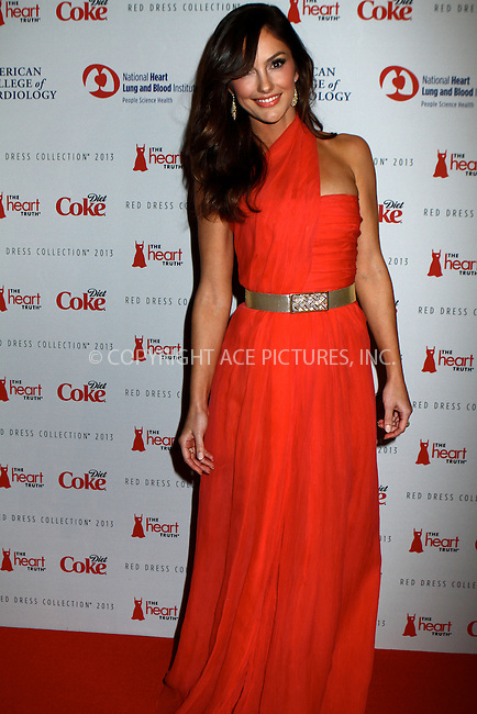 WWW.ACEPIXS.COM....February 6 2013, New York City....Minka Kelly arriving atThe Heart Truth's Red Dress Collection during Fall 2013 Mercedes-Benz Fashion Week at Hammerstein Ballroom on February 6, 2013 in New York City. ......By Line: Nancy Rivera/ACE Pictures......ACE Pictures, Inc...tel: 646 769 0430..Email: info@acepixs.com..www.acepixs.com