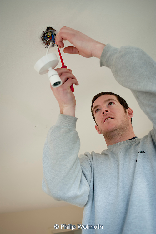 Nick Heaven, electrician, Camden Council.