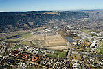 Housing development in city, Pleasanton, California