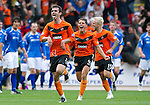 St Johnstone v Dundee United...27.08.11   SPL Week 5.Gavin Gunning celebrates making it 3-3.Picture by Graeme Hart..Copyright Perthshire Picture Agency.Tel: 01738 623350  Mobile: 07990 594431