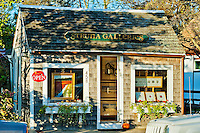 Art gallery, Chatham, Cape Cod, Massachusetts, USA