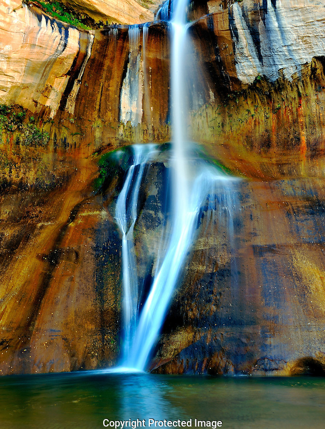 Lower Calf Creek Falls<br />