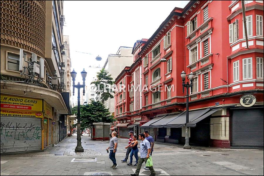 Rua Dom Jose de Barros, centro de Sao Paulo. 2018. Foto de Juca Martins