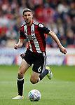 Chris Basham of Sheffield Utd during the Championship League match at Bramall Lane Stadium, Sheffield. Picture date 19th August 2017. Picture credit should read: Simon Bellis/Sportimage