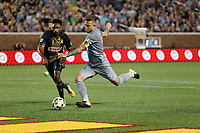 Minneapolis, MN - Saturday, September 9, 2017: Minnesota United FC played Philadelphia Union in a Major League Soccer (MLS) game at TCF Bank stadium. Final score Minnesota United 1, Philadelphia Union 1