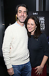 Jason Robert Brown and Georgia Stitt attends 'Best Worst Thing That Ever Could Have Happened' broadway screening at SAG-AFTRA on November 13, 2016 in New York City.