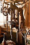 Old milling maching