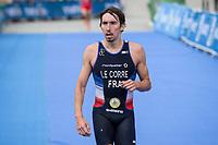 Pierre Le Corre of France during the 2017 Madrid ITU Triathlon World Cup in Madrid, May 28, 2017. Spain.. (ALTERPHOTOS/Rodrigo Jimenez) /NortePhoto.com