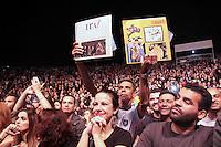 OSASCO,SP, 22.11.2015 - OSASCO-CULTURAL - O vocalista Nasi da Banda Ira durante apresenta&ccedil;&atilde;o no &quot; 1&ordm; Osasco Cultural &quot; no Palco Concha Ac&uacute;stica no bairro Jardim das Flores regi&atilde;o sul da cidade na noite deste s&aacute;bado (21).<br /> ( Foto : Marcio Ribeiro / Brazil Photo Press)