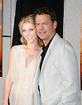 """HOLLYWOOD, CA. - March 25: Greg Kinnear (R) and wife Helen Labdon  arrive to """"The Last Song"""" Los Angeles Premiere at ArcLight Hollywood on March 25, 2010 in Hollywood, California."""