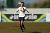 Maya Vio of Tottenham Ladies during Tottenham Hotspur Ladies vs Oxford United Women, FA Women's Super League FA WSL2 Football at Theobalds Lane on 11th February 2018