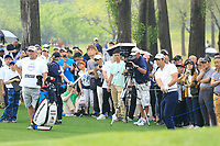 Adrian Otaegui (ESP) during the final round of the Volvo China Open played at Topwin Golf and Country Club, Huairou, Beijing, China 26-29 April 2018.<br /> 29/04/2018.<br /> Picture: Golffile | Phil Inglis<br /> <br /> <br /> All photo usage must carry mandatory copyright credit (&copy; Golffile | Phil Inglis)