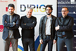"""Manuel Rios San Martin, Javier Quintas and Juanma R. Pachon   attends to the photocall of the presentation of conferences """"Series juveniles que marcaron una generacion"""" by Dirige Association in Madrid, Spain. March 27, 2017. (ALTERPHOTOS/BorjaB.Hojas)"""