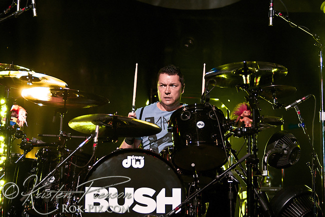 Bush perform at Lupo's in Providence, Rhode Island, July 11, 2012