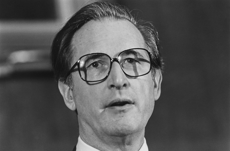 Sen. Jay Rockefeller, D-W.Va., in December 1991. (Photo by Laura Patterson/CQ Roll Call via Getty Images)