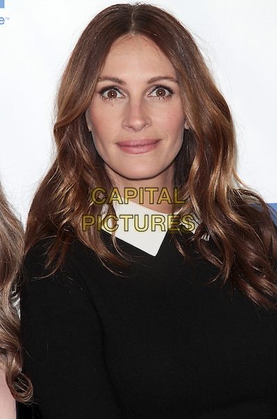 Julia Roberts.'Jesus Henry Christ' Los Angeles Premiere held at Mann Chinese 6, Hollywood, California, USA..April 18th, 2012.headshot portrait white collar black  .CAP/ADM/SLP/JO.©James Orken/Starlitepics/AdMedia/Capital Pictures.
