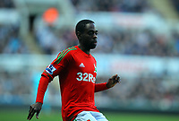 Saturday 17 November 2012<br /> Pictured: Nathan Dyer of Swansea<br /> Re: Barclay's Premier League, Newcastle United v Swansea City FC at St James' Park, Newcastle Upon Tyne, UK.
