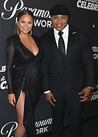 HOLLYWOOD, CA - JANUARY 18:  Chrissy Tiegen and LL Cool J at Lip Sync Battle Live: A Michael Jackson Celebration at the Dolby Theatre on January 18, 2018 in Hollywood, California. (Photo by Scott Kirkland/PictureGroup)