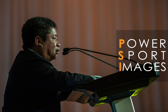 ProAm gala dinner during the Venetian Macau Open golf tournament on October 16, 2013 at the Macau Golf & Country Club in Macau, China. Photo by Xaume Olleros / The Power of Sport Images