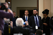 Counselor for Political Affairs at the U.S. Embassy in Ukraine David Holmes arrives to testify before the U.S. House Permanent Select Committee on Intelligence on Capitol Hill in Washington D.C., U.S., on Thursday, November 21, 2019.<br /> <br /> Credit: Stefani Reynolds / CNP