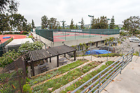 Occidental College's McKinnon Family Tennis Center, June 25, 2013. (Photo by Marc Campos, Occidental College Photographer)