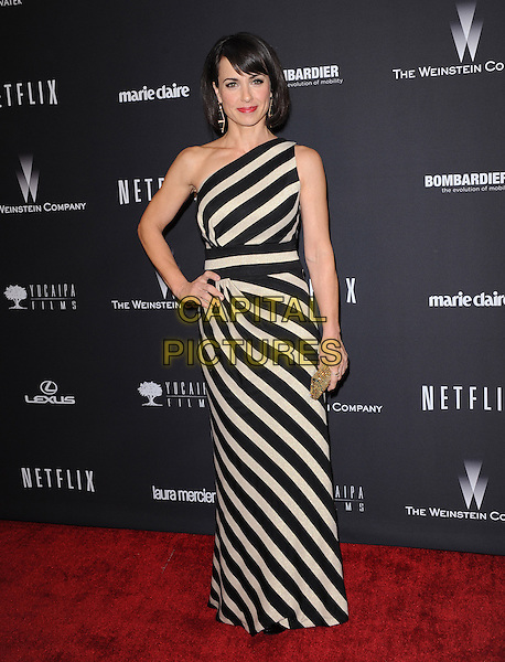 Constance Zimmer attends THE WEINSTEIN COMPANY &amp; NETFLIX 2014 GOLDEN GLOBES AFTER-PARTY held at The Beverly Hilton Hotel in Beverly Hills, California on January 12,2014                                                                               <br /> CAP/DVS<br /> &copy;DVS/Capital Pictures