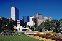 Civic Center Park in downtown Denver. Colorado.