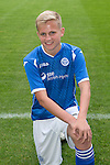 St Johnstone FC Academy Under 17s<br /> Alistair McCann<br /> Picture by Graeme Hart.<br /> Copyright Perthshire Picture Agency<br /> Tel: 01738 623350  Mobile: 07990 594431