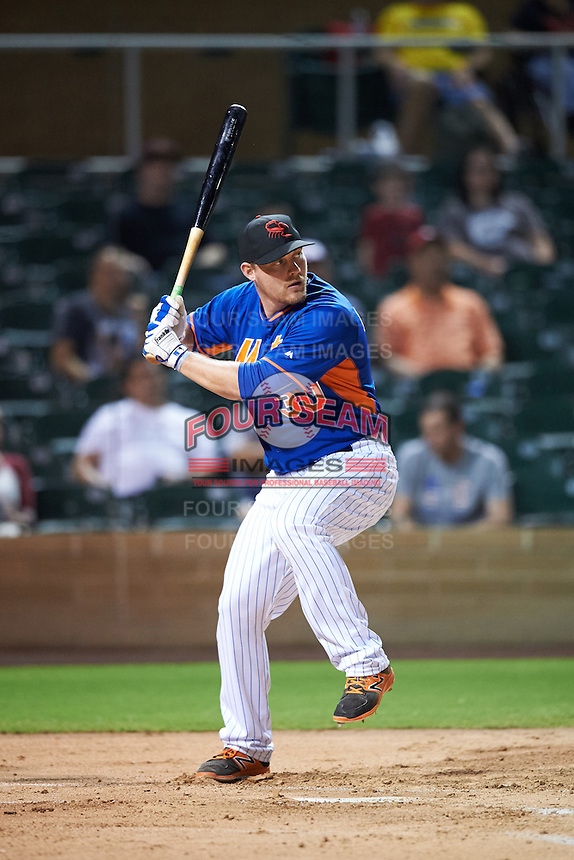 Scottsdale Scorpions Matt Oberste (30), of the New York Mets organization, during the Bowman Hitting Challenge on October 8, 2016 at the Salt River Fields at Talking Stick in Scottsdale, Arizona.  (Mike Janes/Four Seam Images)