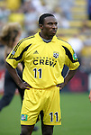 12 Jun 2004: Jeff Cunningham before the match. The Columbus Crew and Kansas City Wizards tied 2-2 at Crew Stadium in Columbus, OH during a regular season Major League Soccer game..