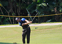 Matthieu Pavon (FRA) in action on the 9th during Round 4 of the Maybank Championship at the Saujana Golf and Country Club in Kuala Lumpur on Saturday 4th February 2018.<br /> Picture:  Thos Caffrey / www.golffile.ie<br /> <br /> All photo usage must carry mandatory copyright credit (&copy; Golffile | Thos Caffrey)