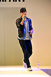 Danny shayh sings live at the Clothes Show Live at the NEC Birmingham 07/12/2012