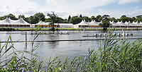 Henley on Thames. United Kingdom.  General View across the Henley Course.  Monday,  27/06/2016,   16:14:52   2016 Henley Royal Regatta, Henley Reach.   [Mandatory Credit Peter Spurrier/ Intersport Images]