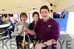 Joan Moran, Bríd Sayers, Dermot Sayers, Ballyferriter, enjoying the Dingle Food Festival on Saturday last.