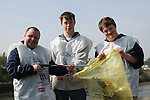Andrew, Richard and Brendan at the National Spring Clean of the Ramparts with Malta Services...(Photo credit should read Jenny Matthews www.newsfile.ie)....This Picture has been sent you under the conditions enclosed by:.Newsfile Ltd..The Studio,.Millmount Abbey,.Drogheda,.Co Meath..Ireland..Tel: +353(0)41-9871240.Fax: +353(0)41-9871260.GSM: +353(0)86-2500958.email: pictures@newsfile.ie.www.newsfile.ie.