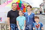Marco Ratto, Aine Joy, Gloria and William Ratto at Kfest in Killorglin on Saturday