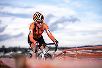 Shirin Van Anrooij (NED) <br /> <br /> Women's Junior race<br /> UCI 2020 Cyclocross World Championships<br /> Dübendorf / Switzerland<br /> <br /> ©kramon