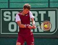 Netherlands, The Hague, Juli 26, 2015, Tennis,  Sport1 Open, Andrey Kuznetsov (RUS)<br /> Photo: Tennisimages/Henk Koster