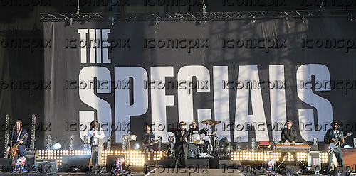 THE SPECIALS - performing live at the BT London Live 2012 Olympic Concerts in Hyde Park London UK -12 Aug 2012.  Photo credit: George Chin/IconicPix