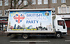 British National Party election manifesto launch for the May 3 London Assembly elections in East London, Great Britain <br /> 9th April 2012 <br /> <br /> <br /> Photograph by Elliott Franks