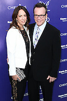 BRENTWOOD, LOS ANGELES, CA, USA - JUNE 07: Ashley Groussman, Tom Arnold at the 13th Annual Chrysalis Butterfly Ball held at Brentwood County Estates on June 7, 2014 in Brentwood, Los Angeles, California, United States. (Photo by Xavier Collin/Celebrity Monitor)