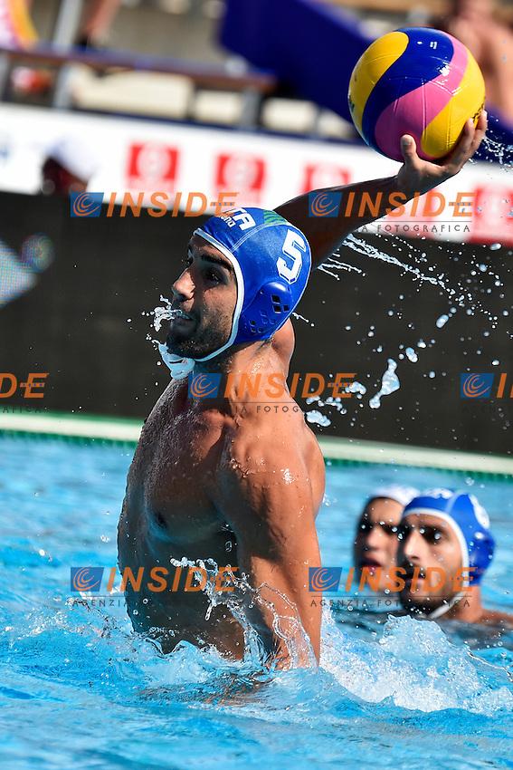 GIORGETTI Alex Italia <br /> Romania - Italy / Romania - Italia <br /> LEN European Water Polo Championships 2014<br /> Alfred Hajos -Tamas Szechy Swimming Complex<br /> Margitsziget - Margaret Island<br /> Day02 - July 15 <br /> Photo A.Staccioli/Insidefoto/